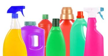 cleanser bottles