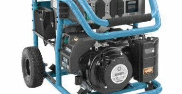 blue portable generator