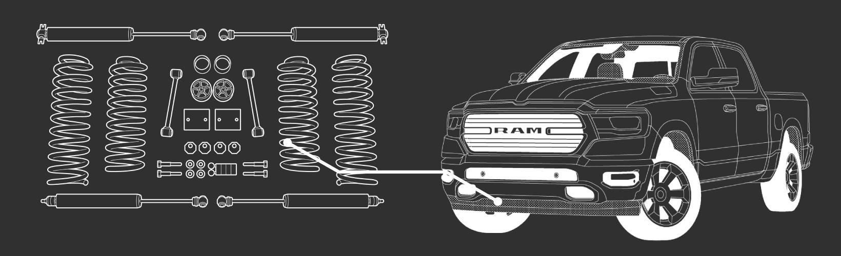Best Lift Kit for RAM 1500
