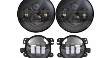 Best Jeep Wrangler LED Headlights
