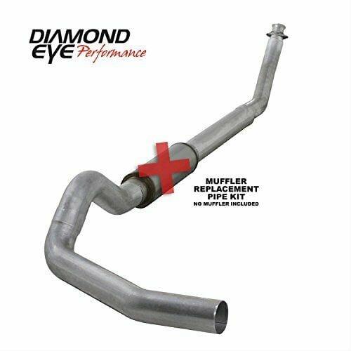 Diamond Eye K5216A-RP Turbo-Back Exhaust Kit
