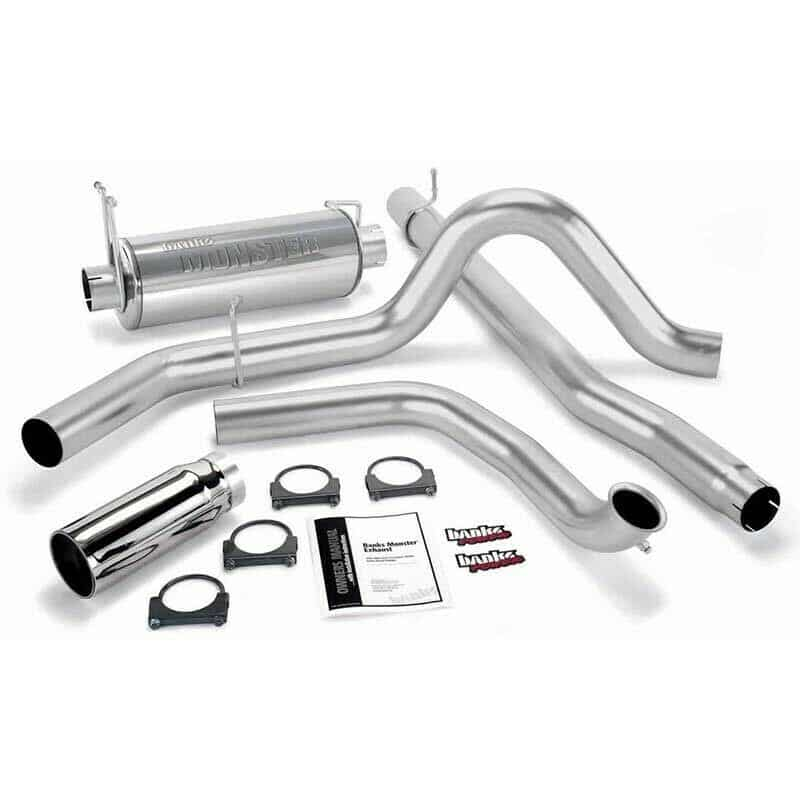 99.5-03 Ford 7.3L Powerstroke * Banks Single Monster Exhaust System
