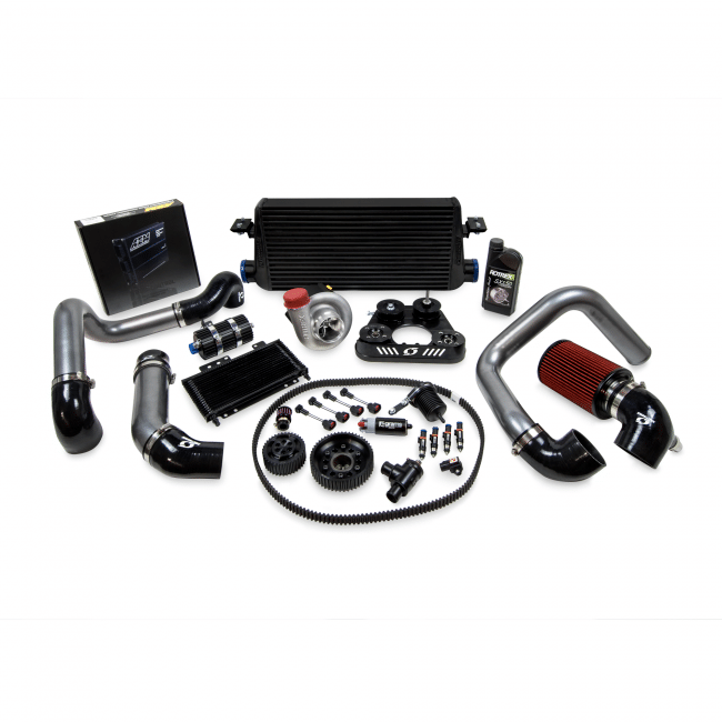 Kraftwerks Supercharger 30mm System W/ Tuning For 00-03 Honda Civic S2000-Black