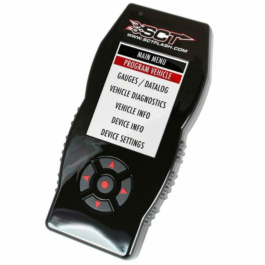 SCT® X4™ 7015 Flash Power Programmer Tuner for '96-19 Ford Vehicles Gas & Diesel