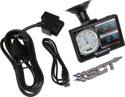 SCT Performance – 5015P – Livewire TS+ Performance Tuner and Monitor – Ford Preloaded and Custom Tuning