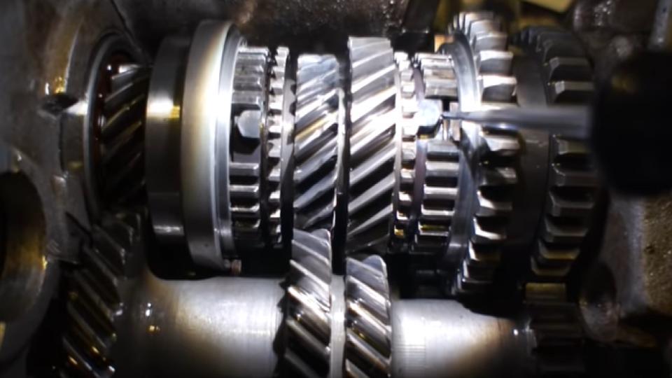 gap in grinding gears