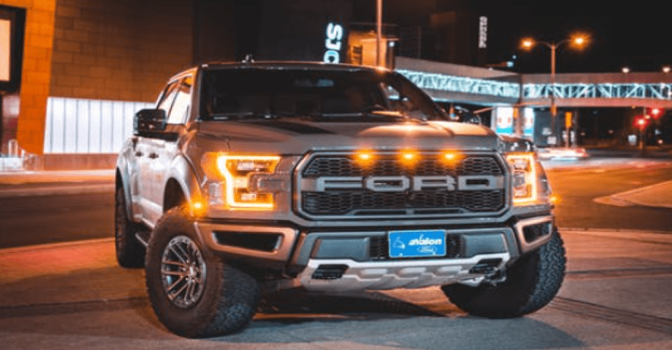 how much can a ford f150 tow