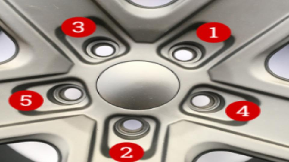 number sequence to torque lugnuts