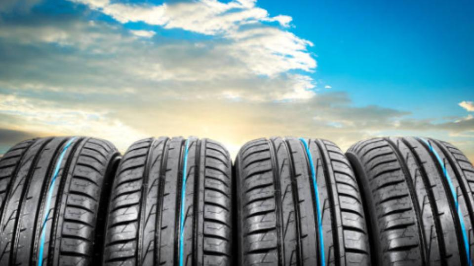 brand new tires image