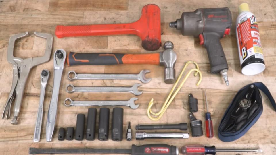 tools needed for installing leveling kit